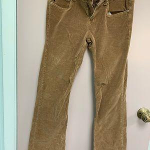 Aeropostale Corduroy style pants